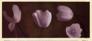 Illuminating Tulips IV by Judy Mandolf