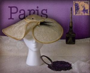 Paris Hat by Judy Mandolf