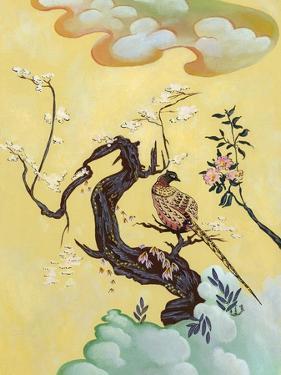 Asian Bird 3 by Judy Mastrangelo