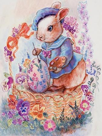 Bunny Artist by Judy Mastrangelo