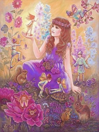 Fairies in My Garden by Judy Mastrangelo