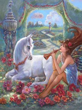 Flute Fairy by Judy Mastrangelo