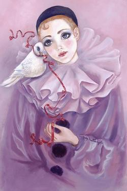 Pierrot and Dove by Judy Mastrangelo
