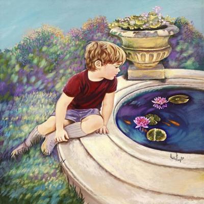 Water Lilies - Garden Gates by Judy Mastrangelo