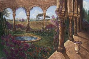 Wisteria Cloister by Judy Mastrangelo