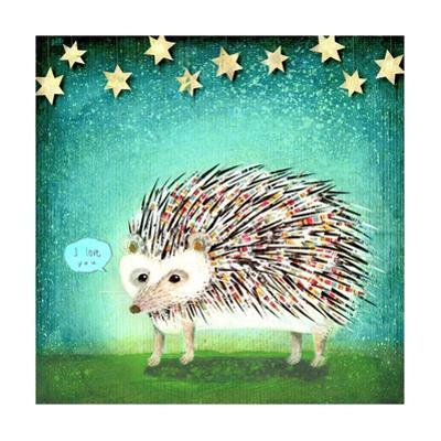Porcupine for Thomas by Judy Verhoeven