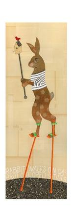 Rabbit on Stilts by Judy Verhoeven