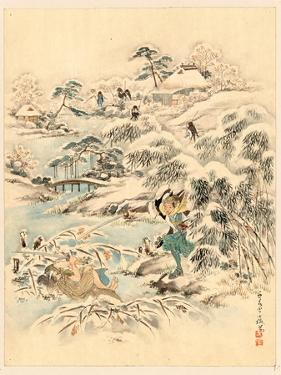 Juichidanme - Act Eleven of the Chushingura - Searching the Grounds