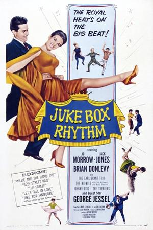 Juke Box Rhythm, from Left, Jack Jones, Jo Morrow, 1959