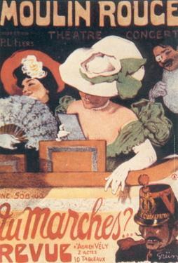 1903-Affiche Tu Marche by Jules-Alexandre Grün