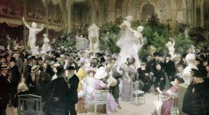Friday at the French Artists' Salon, 1911 by Jules-Alexandre Grün