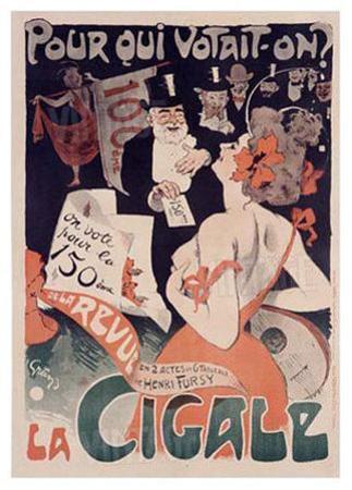 La Cigale by Jules-Alexandre Grün