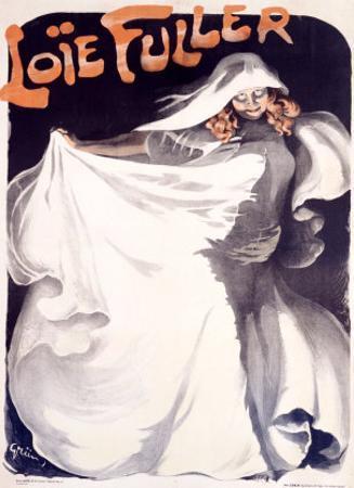 Loie Fuller by Jules-Alexandre Grün