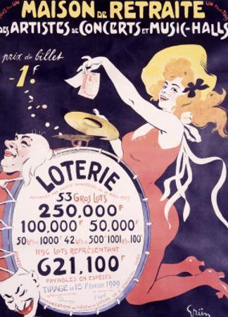 Loterie Maison de Retraite by Jules-Alexandre Grün