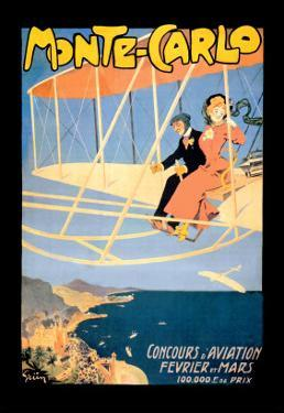 Monte Carlo Concours d'Aviation by Jules-Alexandre Grün