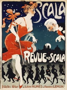Scala, La Revue De La Scala by Jules-Alexandre Grün
