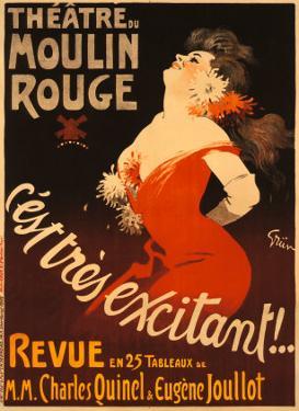 Theatre du Moulin Rouge by Jules-Alexandre Grün