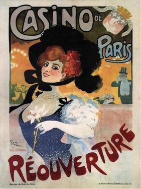 Casino De Paris by Jules Alexandre Grun