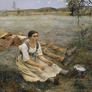 Hay Making, 1877 by Jules Bastien-Lepage