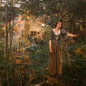 Joan of Arc, 1879 by Jules Bastien-Lepage