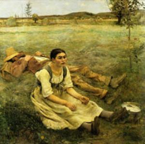 Lepage, Les Foins, c.1885 by Jules Bastien-Lepage
