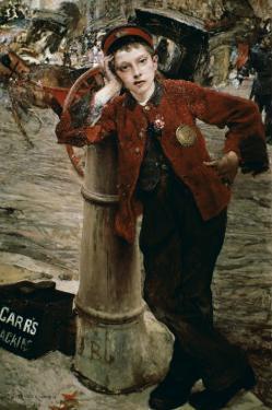 London Shoeshine Boy by Jules Bastien-Lepage