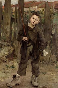 Pas Meche, 1882 by Jules Bastien-Lepage