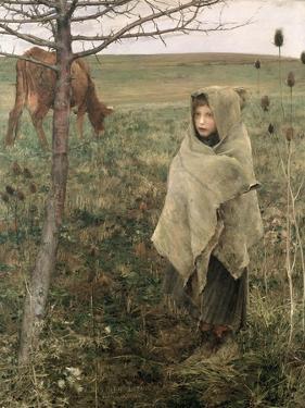 Poor Fauvette, 1881 by Jules Bastien-Lepage