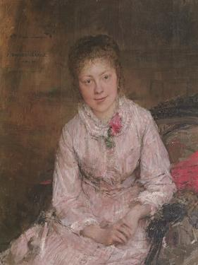Portrait of a Young Woman by Jules Bastien-Lepage