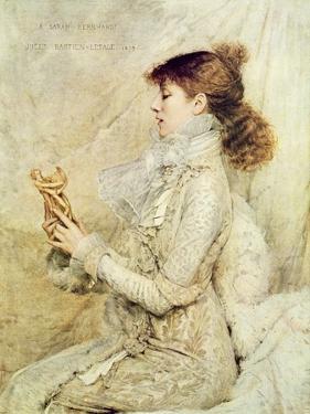 Portrait of Sarah Bernhardt by Jules Bastien-Lepage
