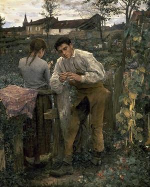 Rural Love by Jules Bastien-Lepage