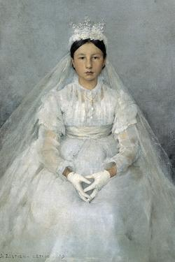 The Communicant, 1875 by Jules Bastien-Lepage