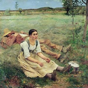 The Haymakers, 1877 by Jules Bastien-Lepage