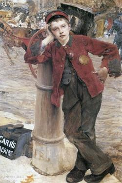 The London Bootblack, 1882 by Jules Bastien-Lepage