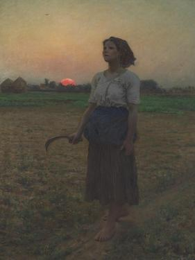The Song of the Lark, 1884 by Jules Breton