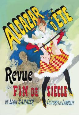 Alcazar d'Ete: Revue Fin de Siecle by Jules Ch?ret