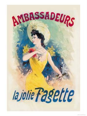 Ambassadeurs: La Jolie Fagette by Jules Ch?ret
