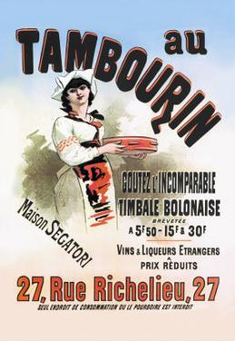 Au Tambourin by Jules Ch?ret