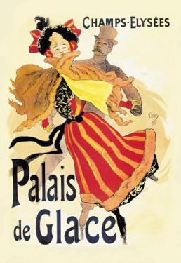 Champs-Elysees: Palais de Glace by Jules Ch?ret