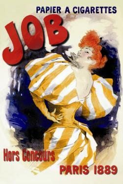 Job, 1889 by Jules Ch?ret