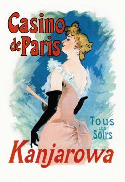 Kanjarowa: Casino de Paris by Jules Ch?ret