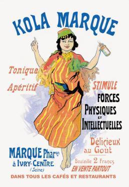 Kola Marque Tonique et Apertif by Jules Ch?ret