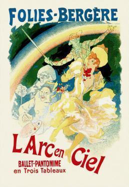 L'Arc En Ciel: Folies-Bergere by Jules Ch?ret