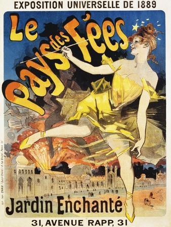Le Pays Des Fees Poster