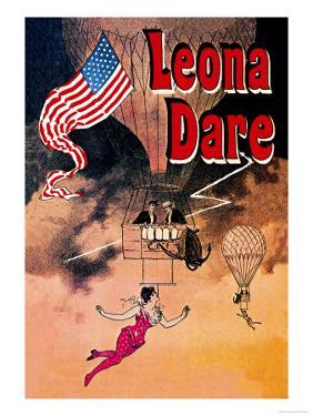 Leona Dare by Jules Ch?ret