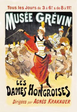 Musee Grevin: Les Dames Hongroises by Jules Ch?ret