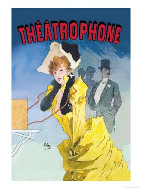 Theatrophone by Jules Ch?ret