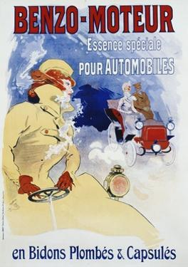 Benzo-Moteur Poster by Jules Chéret