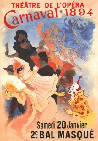 Carnivale by Jules Chéret