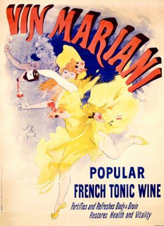 Cheret Vin Mariani Tonic by Jules Chéret